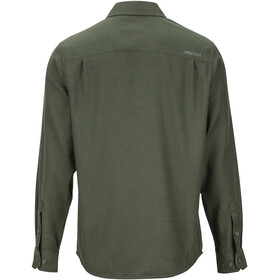 Marmot Hobson Chemise Manches longues Flanelle Midweight Homme, rosin green heather